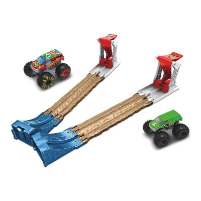 """Игровой набор Hot Wheels Двойной старт серии Monster Trucks (GYC80) купить в магазине """"Пустун"""""""