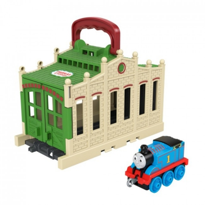 """Игровой набор Томас и Друзья Станция (GWX08) купить в магазине """"Пустун"""""""
