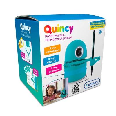 """Интерактивный обучающий робот-художник Quincy (MS.06.0015-U) купить в магазине """"Пустун"""""""