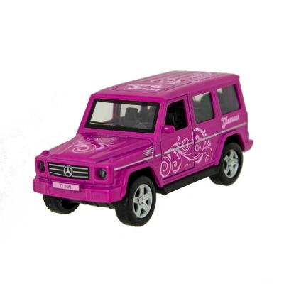 "Автомодель Technopark Glamcar  Mercedes-Benz G-Class (GCLASS-12GRL-LIL) купить в магазине ""Пустун"""