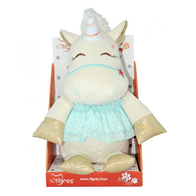 """Мягкая игрушка TIGRES Единорожка Лили (ЄД-0001) купить в магазине """"Пустун"""" Фото 3"""