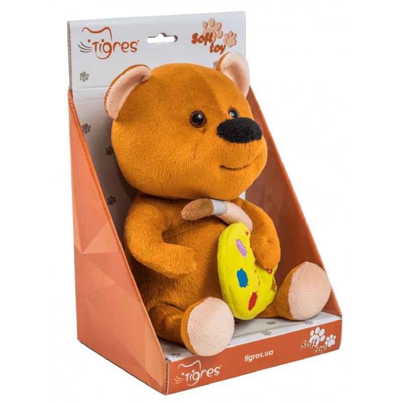 """Мягкая игрушка TIGRES Мишка с палитрой (ІГ-0070) купить в магазине """"Пустун"""" Фото 2"""