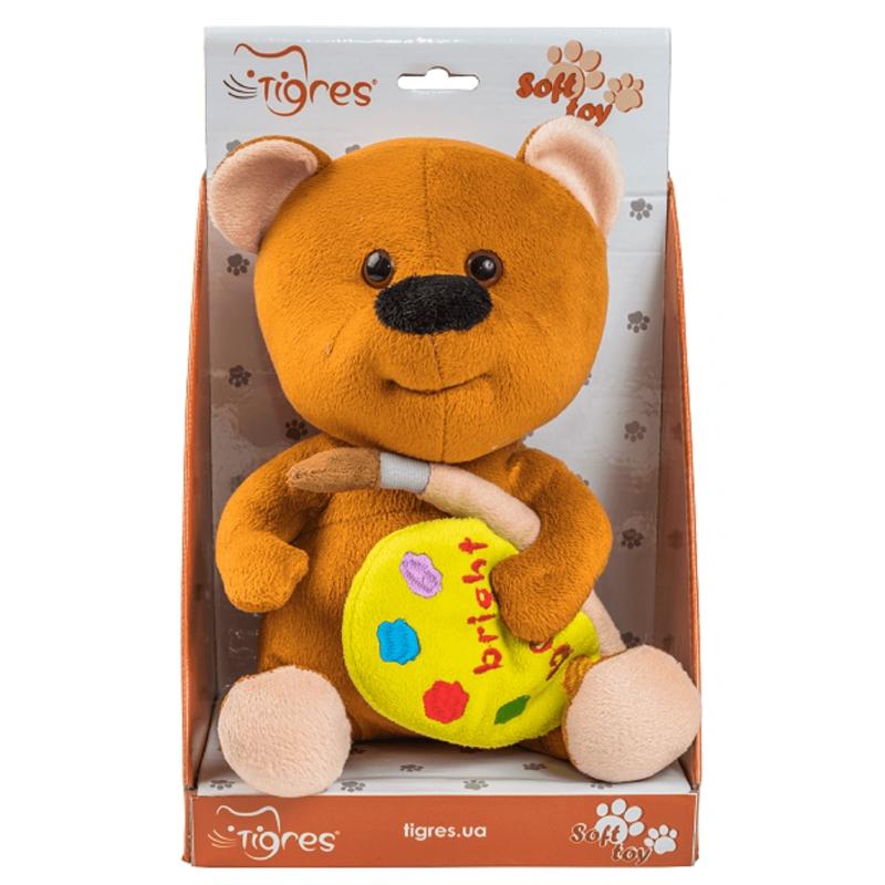 """Мягкая игрушка TIGRES Мишка с палитрой (ІГ-0070) купить в магазине """"Пустун"""" Фото 3"""