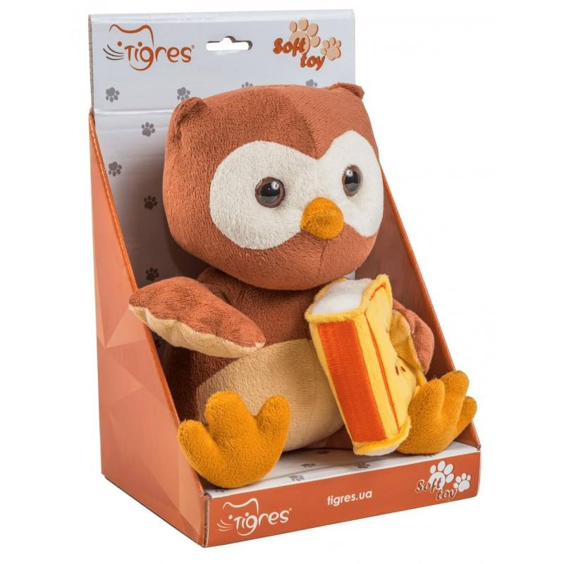 """Мягкая игрушка TIGRES Сова с книгой (ІГ-0071) купить в магазине """"Пустун"""" Фото 2"""