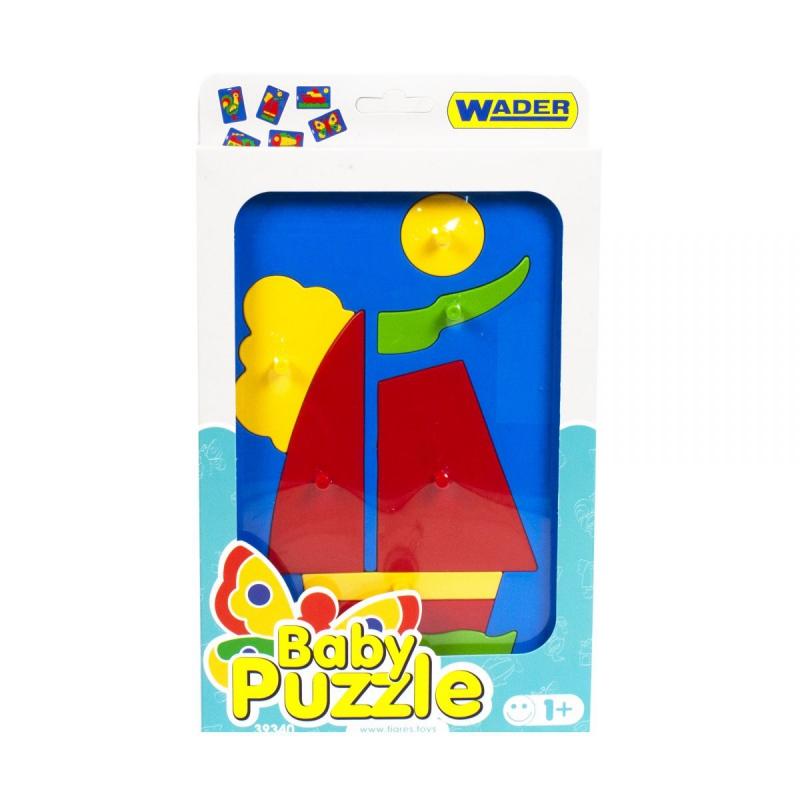 """Развивающая игрушка Baby puzzles Парусник купить в магазине """"Пустун"""""""