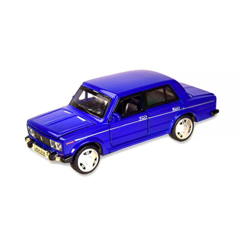 """Машинка ВАЗ 2106 из серии Автопром синяя купить в магазине """"Пустун"""""""
