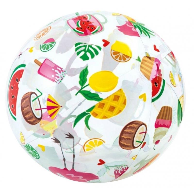 """Надувной мяч """"Фрукты"""", 51 см 59040 купить в магазине """"Пустун"""""""