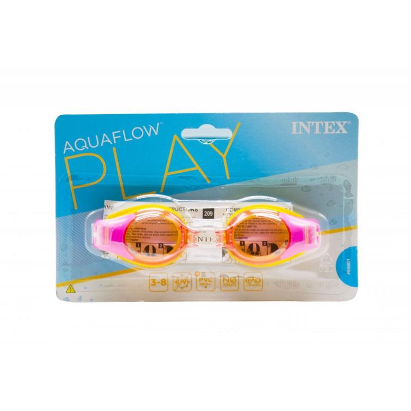 """Очки для плавания Junior Goggles розовые купить в магазине """"Пустун"""""""