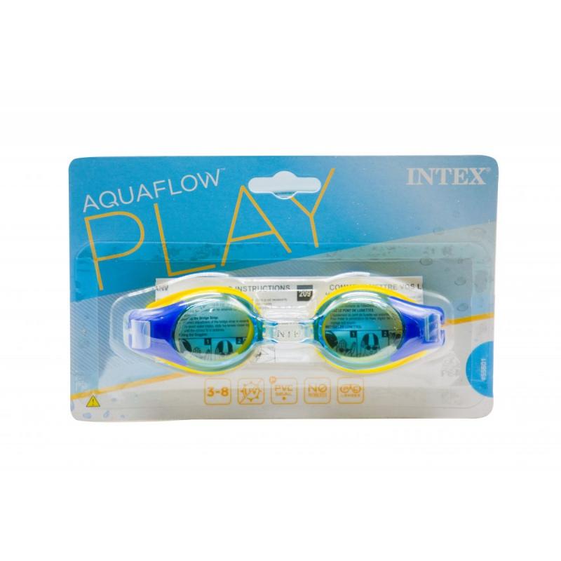 """Очки для плавания """"Junior Goggles"""" (синие) 55601 купить в магазине """"Пустун"""""""