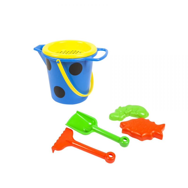 """Песочный набор, маленький (синий) S0006 купить в магазине """"Пустун"""""""