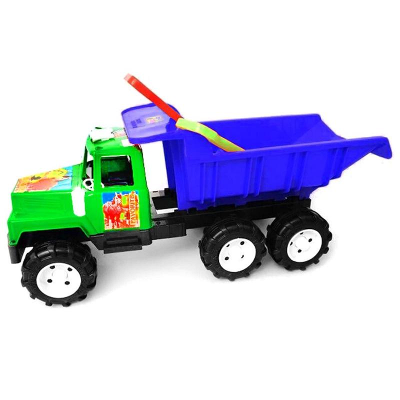 """Машина """"Фаворит"""", с лопаткой и граблями (зеленая) KW-08-806 купить в магазине """"Пустун"""""""