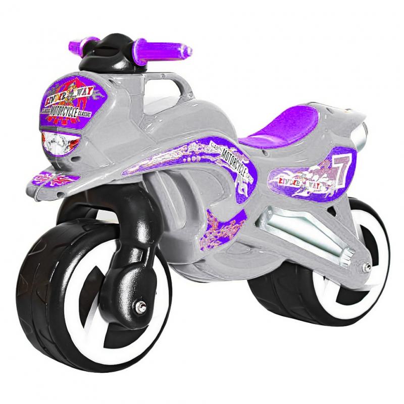 """Каталка """"Мотоцикл"""" (серый) KW-11-006 СЕР купить в магазине """"Пустун"""""""