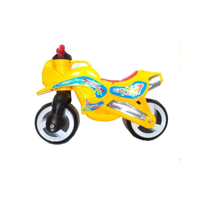 """Каталка """"Мотоцикл"""" (оранжевый) KW-11-006 ОРА купить в магазине """"Пустун"""""""