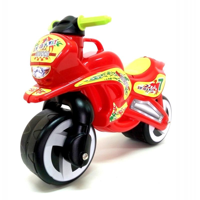 """Каталка """"Мотоцикл"""" (красный) KW-11-006 КР купить в магазине """"Пустун"""""""