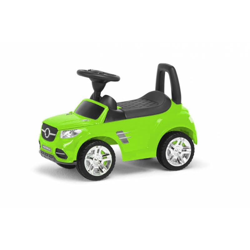 """Детская машинка-каталка (салатовая) 2-001 купить в магазине """"Пустун"""""""