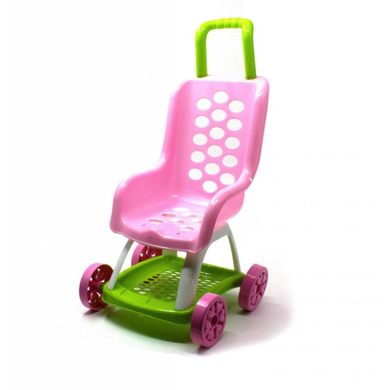 """Коляска для кукол (розовая) KW-37-004 купить в магазине """"Пустун"""""""