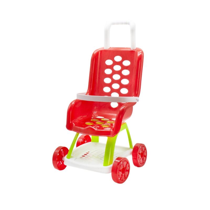 """Коляска для кукол (красная) KW-37-004 купить в магазине """"Пустун"""""""