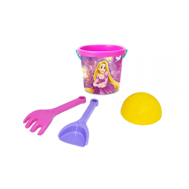 """Набор для песка TIGRES Принцессы 4 элемента Disney, с термонаклейкой (77551) купить в магазине """"Пустун"""""""