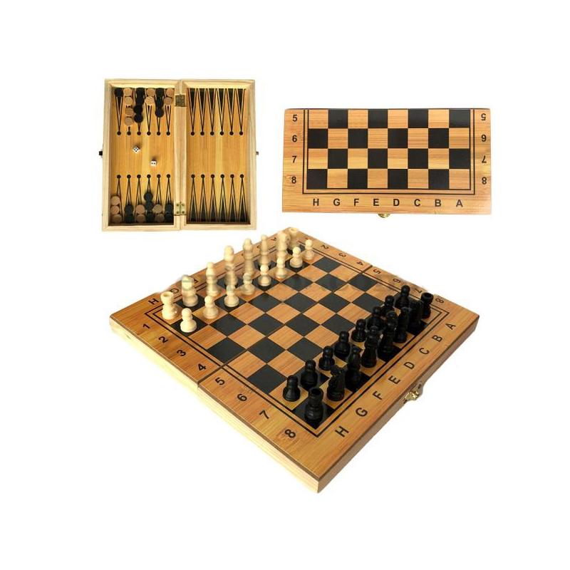 """Игра 2 в 1 (шахматы и нарды) IGR80 купить в магазине """"Пустун"""""""