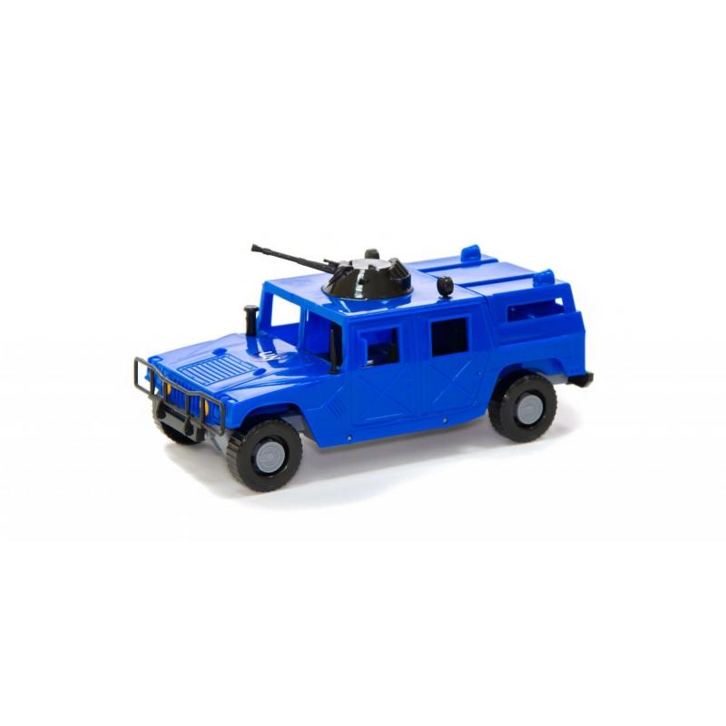 """Машинка Военный внедорожник синяя купить в магазине """"Пустун"""""""