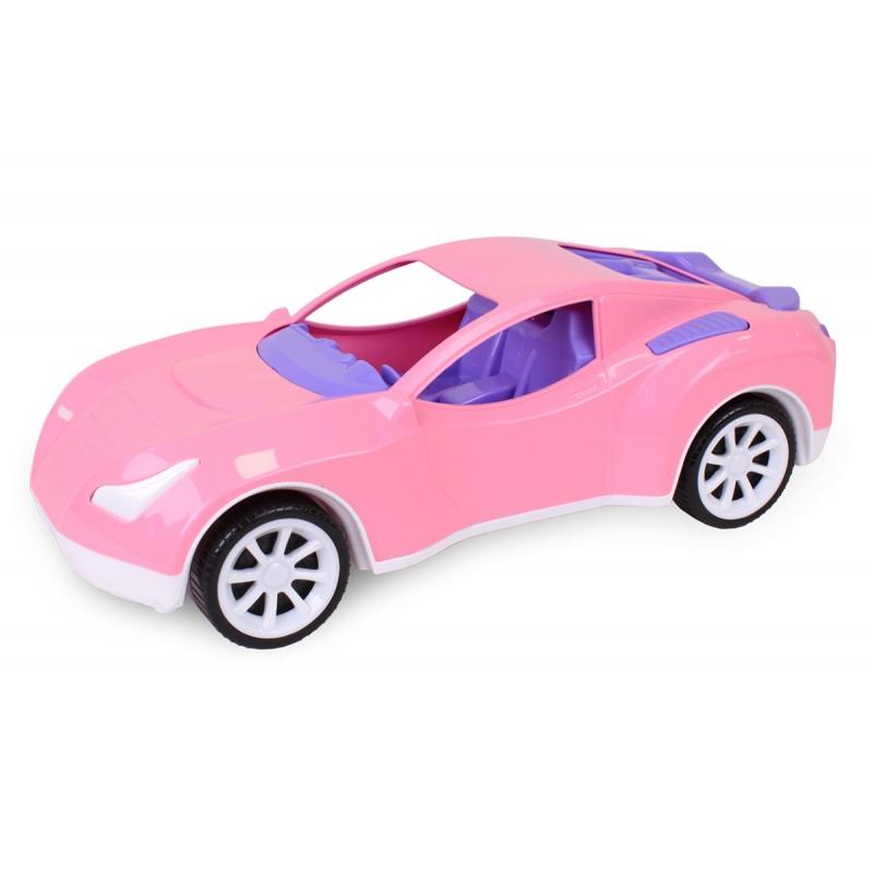 """Машинка пластиковая Спорткар (розовая) купить в магазине """"Пустун"""""""
