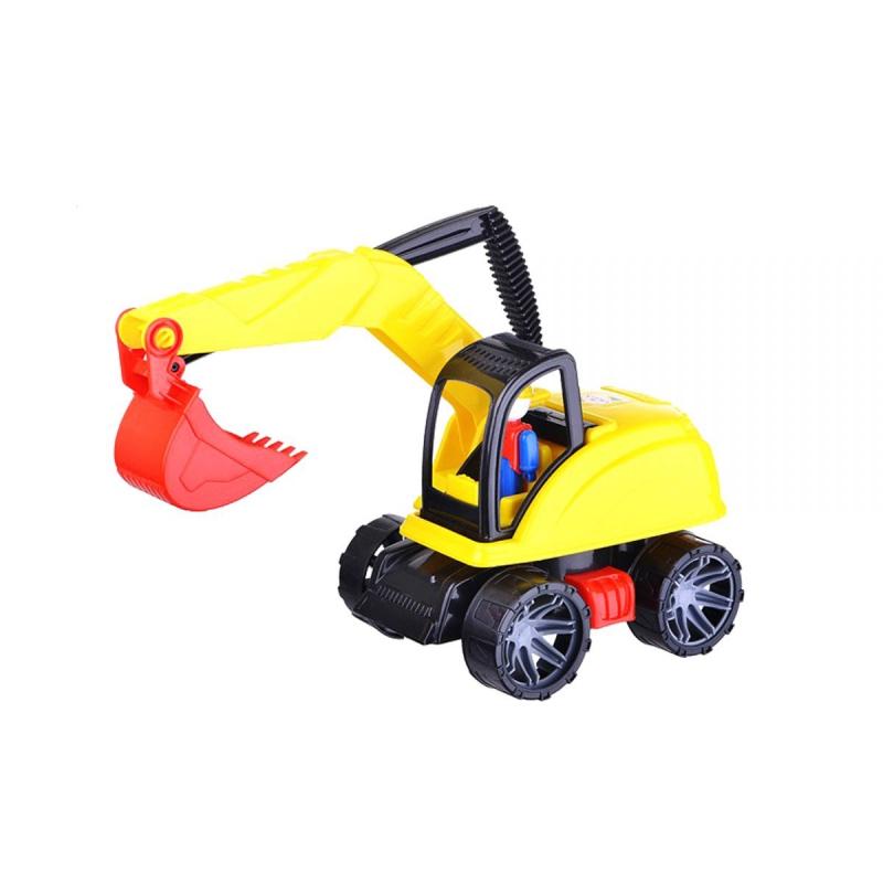 """Автомобиль """"Экскаватор М4"""" (желтый) 249 купить в магазине """"Пустун"""""""