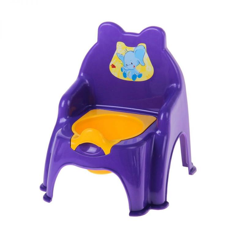 """Детский горшок-стульчик (фиолетовый) 013317/02/9 купить в магазине """"Пустун"""""""