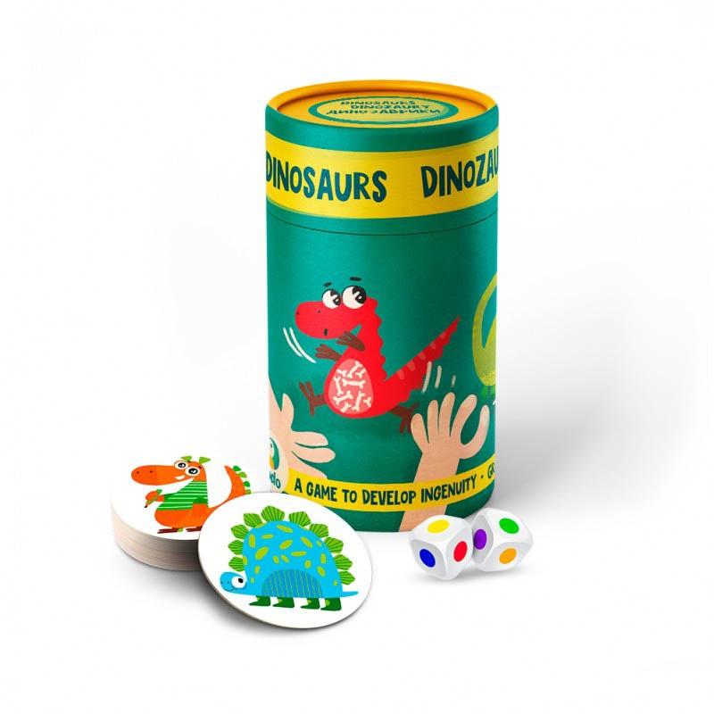 """Настольная игра Динозавры купить в магазине """"Пустун"""""""