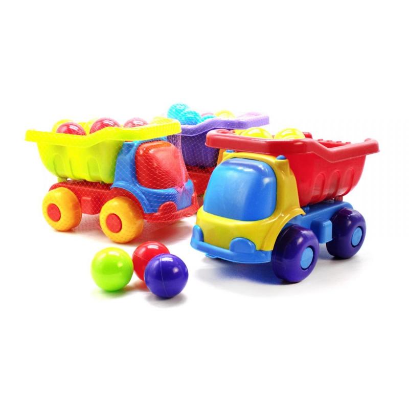 """Машинка пластиковая Шмелек с 12 шариками купить в магазине """"Пустун"""""""