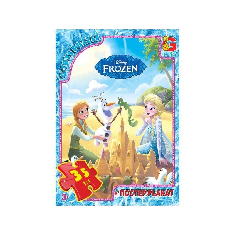 """Пазлы """"Холодное сердце"""", 35 элементов FR010 купить в магазине """"Пустун"""""""