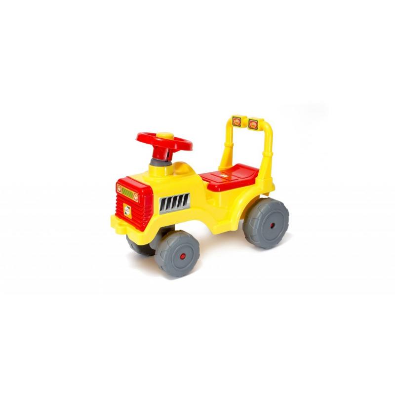 """Каталка """"Беби Трактор"""" (жёлтая) 931_Л купить в магазине """"Пустун"""""""