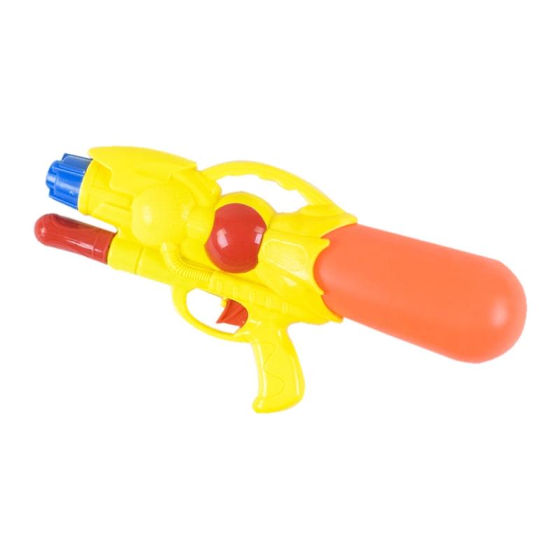 """Водяной пистолет с накачкой (жёлтый) M393 купить в магазине """"Пустун"""""""