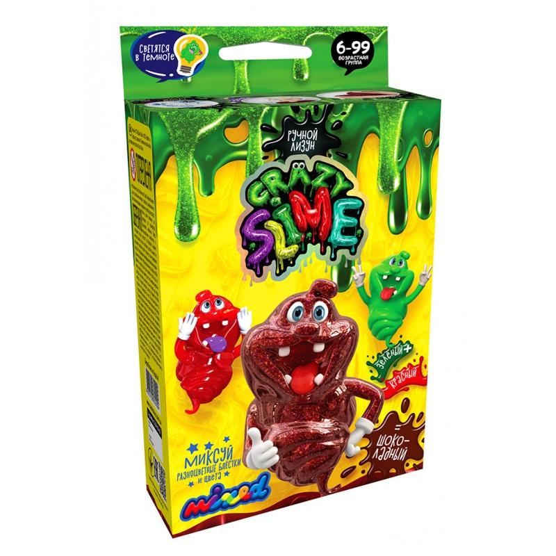 """Набор для опытов Crazy Slime Лизун своими руками шоколадный купить в магазине """"Пустун"""""""