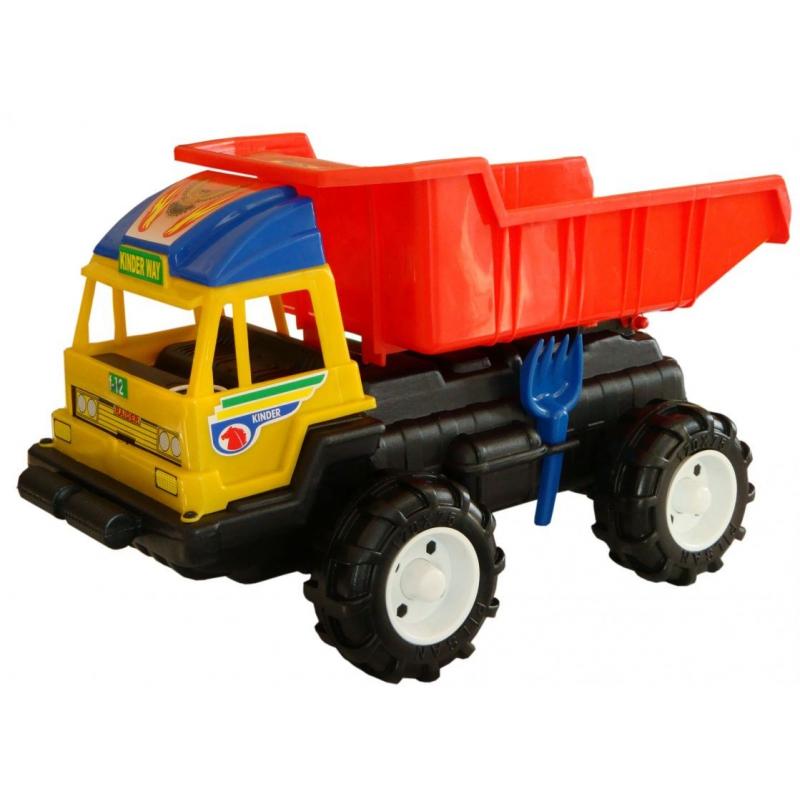 """Машина грузовик """"Даф"""" (с лопаткой и грабельками) KW-08-803 купить в магазине """"Пустун"""""""