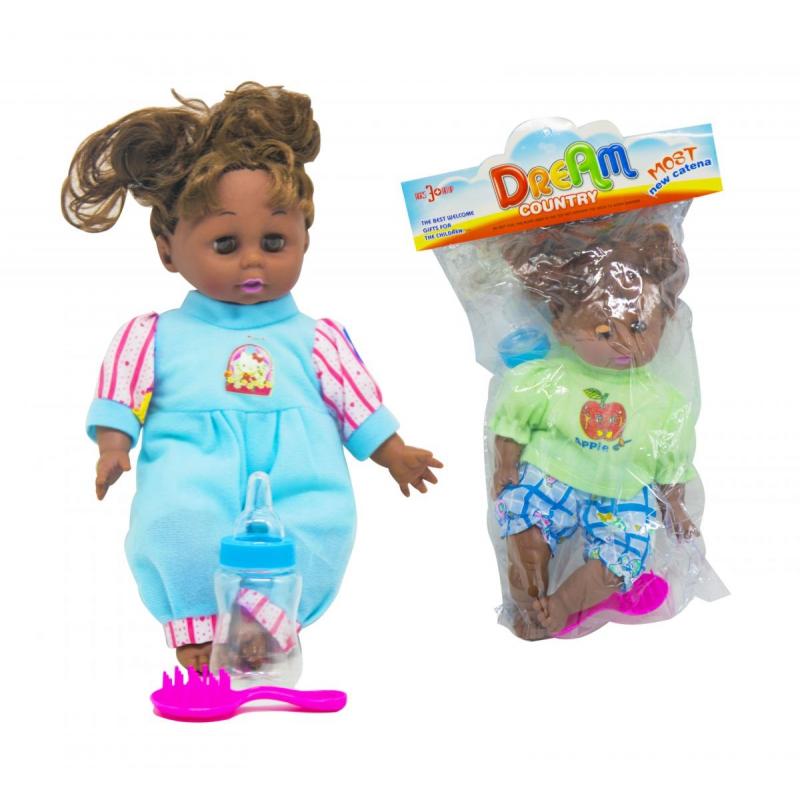 """Кукла с бутылкой и расческой в пакете купить в магазине """"Пустун"""""""