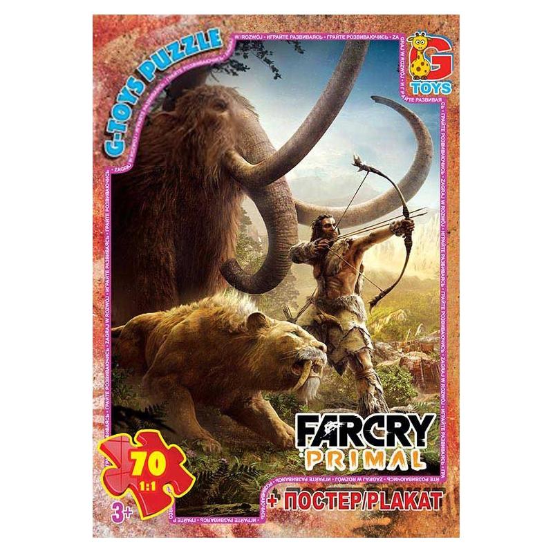 """Пазлы """"Far Cry: Primal"""", 70 элементов FCP01 купить в магазине """"Пустун"""""""