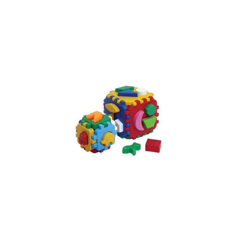 "Іграшка куб Розумний малюк 1 1 ТехноК купить в магазине ""Пустун"""