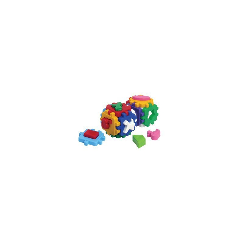 """Игрушка куб Умный малыш Веселая компания ТехноК купить в магазине """"Пустун"""""""