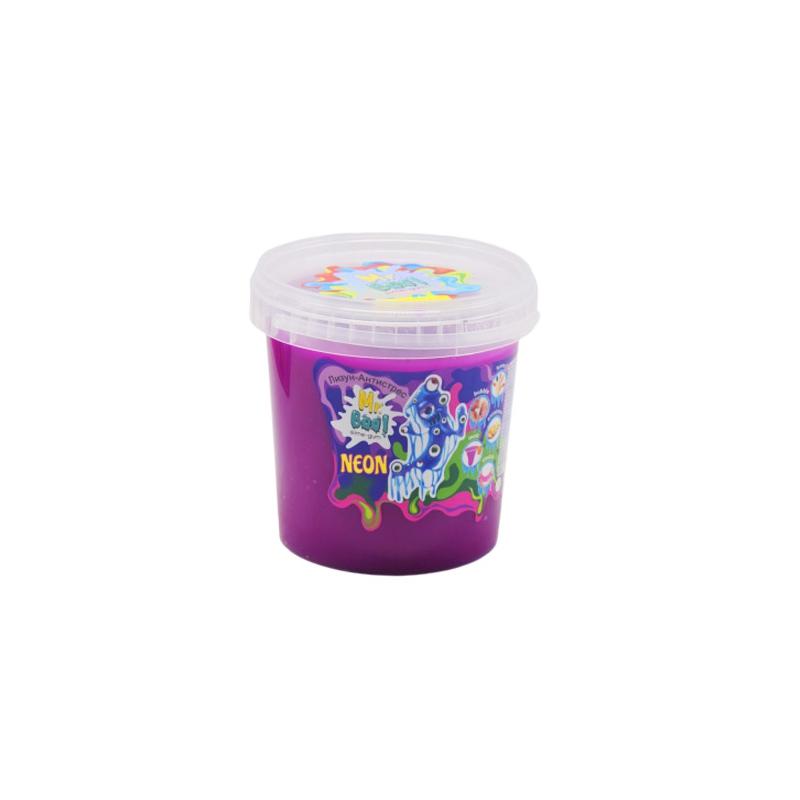 """Лизун-антистресс Mr. Boo: Neon, 1000 г (фиолетовый) купить в магазине """"Пустун"""""""