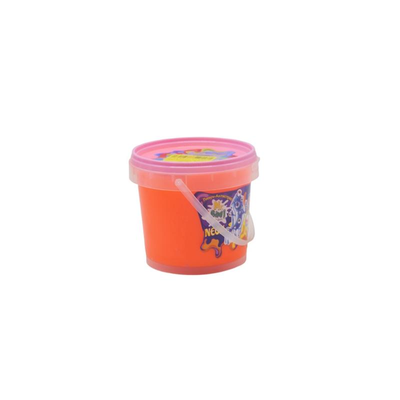 """Лизун антистресс Mr Boo Neon 500 г оранжевый купить в магазине """"Пустун"""""""