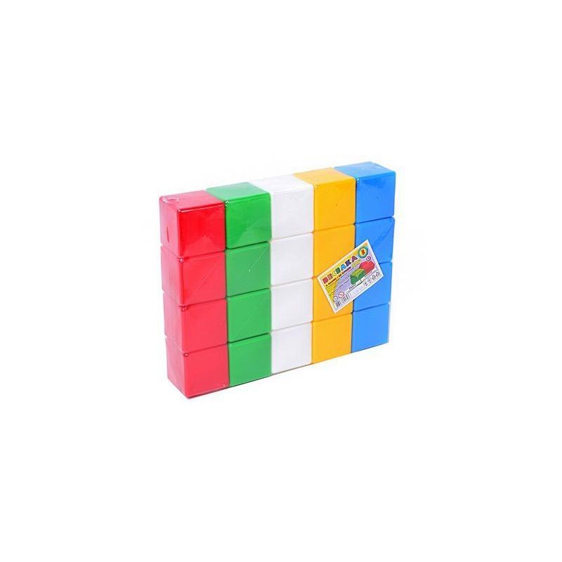 """Кубики Радуга 3 ТехноК (20 кубиков) купить в магазине """"Пустун"""""""