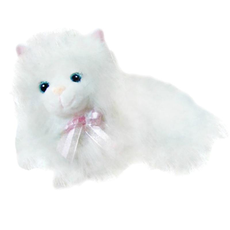 """Мягкая игрушка Пушистая кошечка, 30 см (мяукает) купить в магазине """"Пустун"""""""