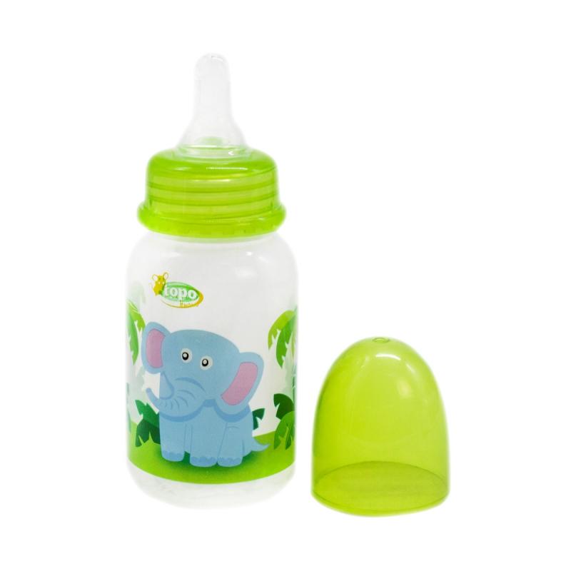 """Бутылочка для кормления, 150 мл зеленый T002 купить в магазине """"Пустун"""""""