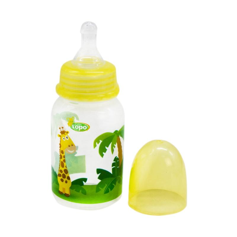 """Бутылочка для кормления, 150 мл желтый T002 купить в магазине """"Пустун"""""""