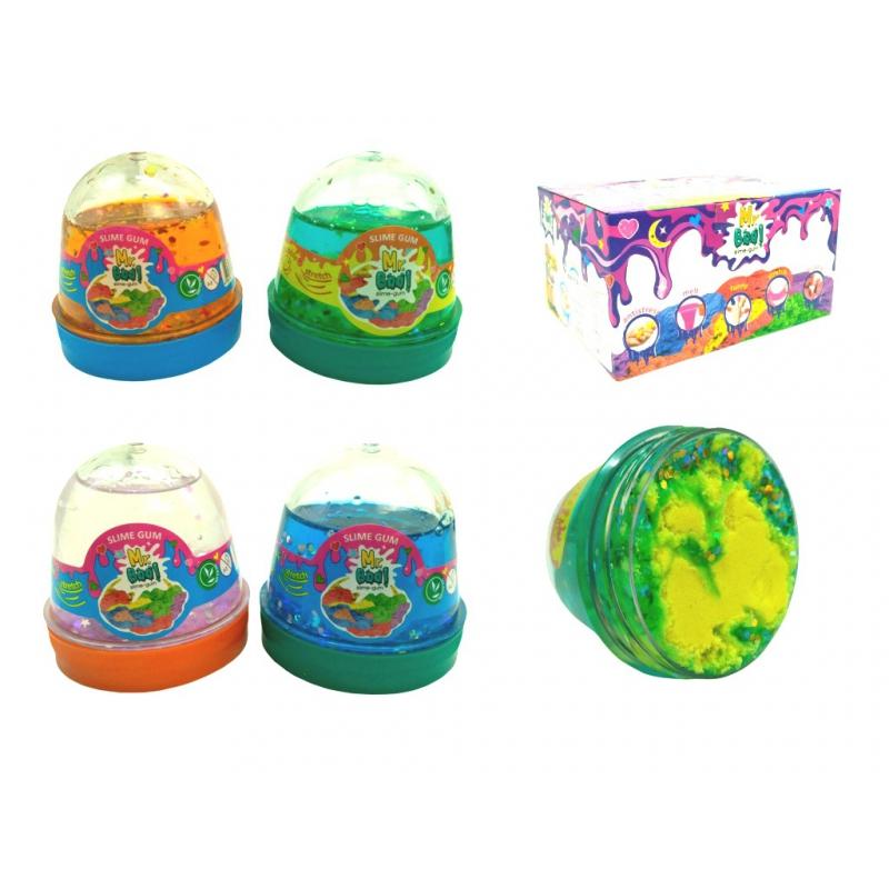 "Лизун-антистресс Mr. Boo: Smoky-Slime Sweet Pluffy, 80 г купить в магазине ""Пустун"""