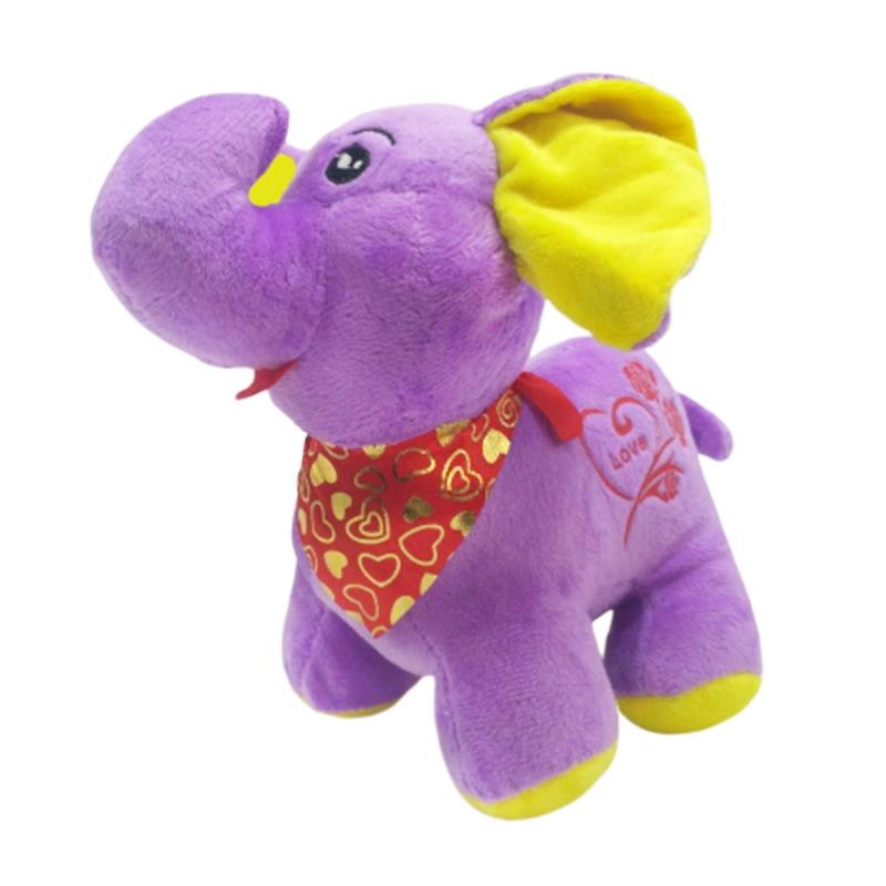 """Мягкая игрушка Слоник (фиолетовый) купить в магазине """"Пустун"""""""