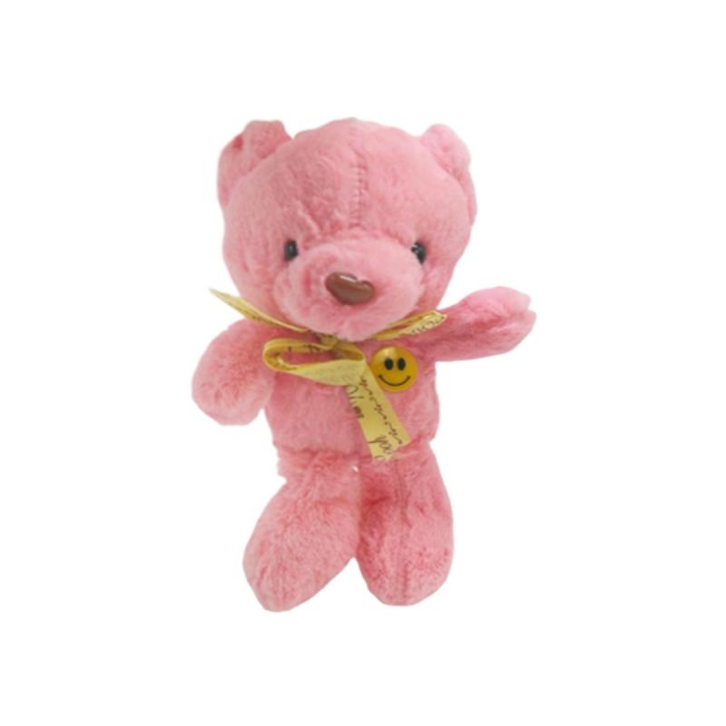 """Мягкая игрушка Мишка розовый купить в магазине """"Пустун"""""""