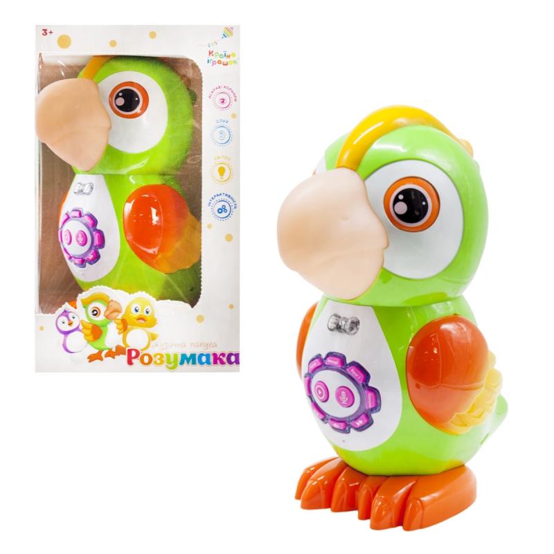 """Интерактивная игрушка Попугай укр купить в магазине """"Пустун"""" Фото 2"""