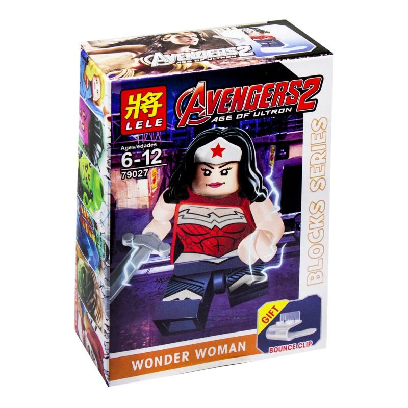 """Конструктор """"Супергерои: Чудо-женщина"""" 79027 купить в магазине """"Пустун"""""""