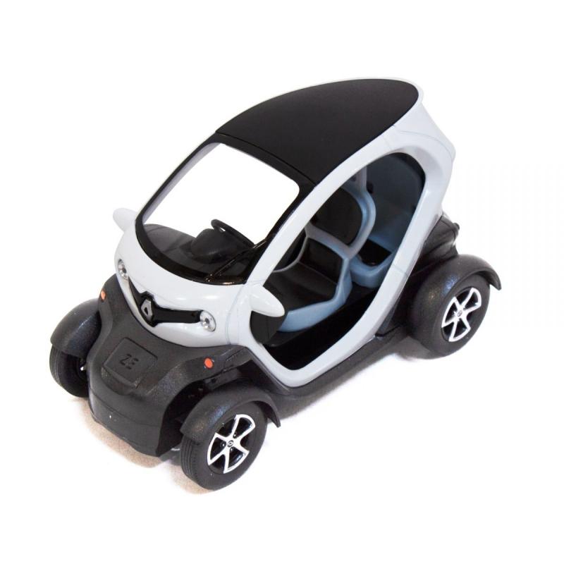 """Машинка KINSFUN Renault Twizy (белая) купить в магазине """"Пустун"""""""